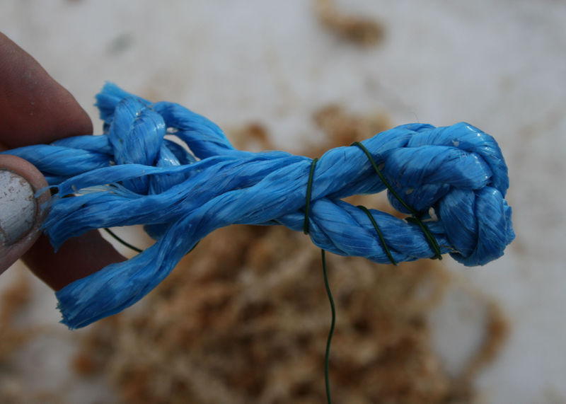 Wire on rope