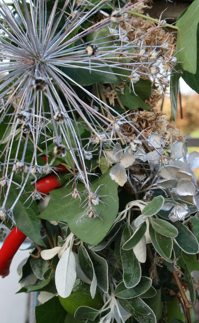 Alliums in garland