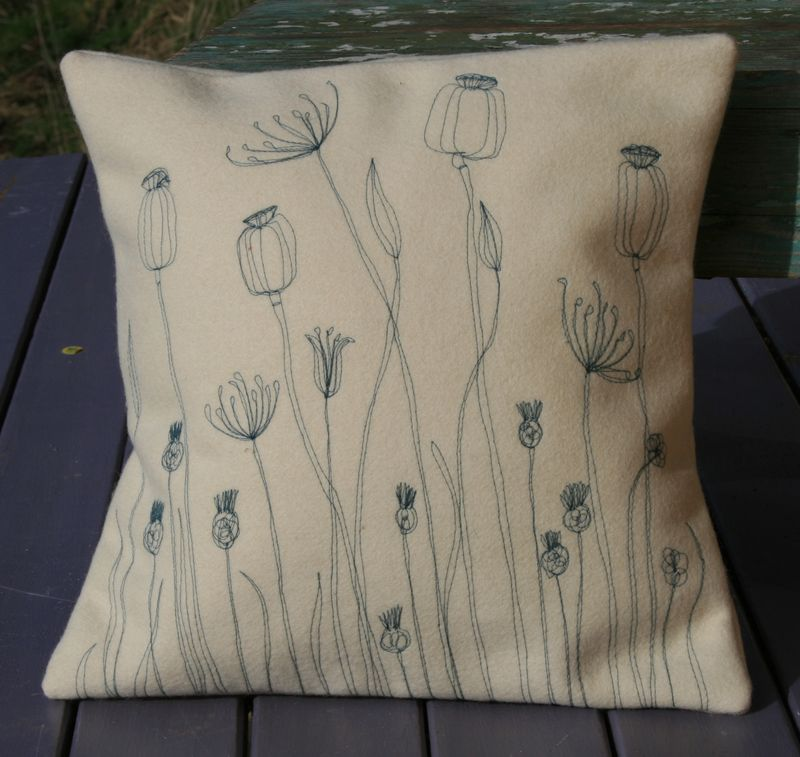Meadow cushion large