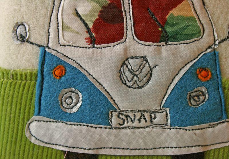 Camper notebooik detail