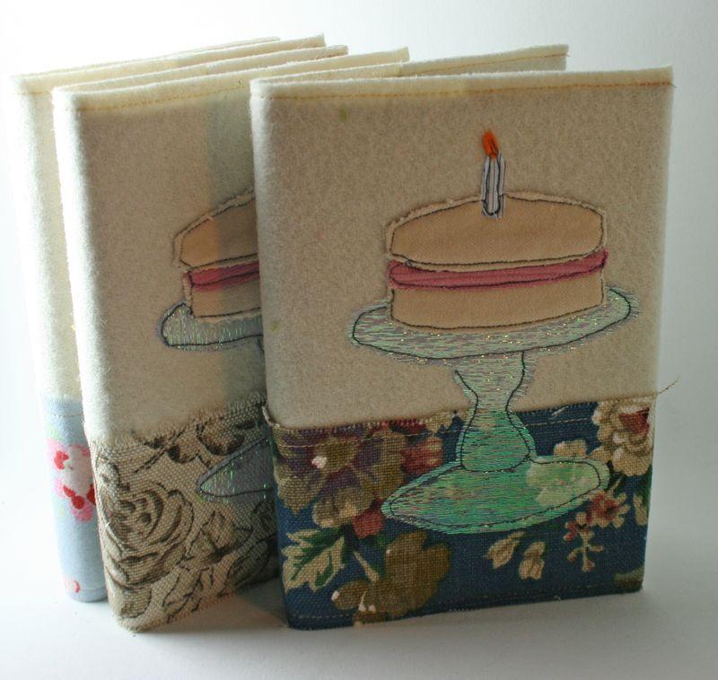 Notebooks cakestand