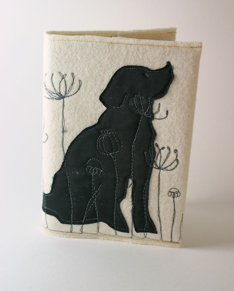 Notebook meadow dog