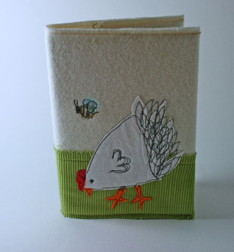 Notebook chicken colour