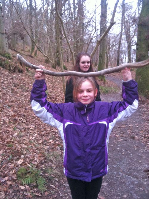Katie's-horns