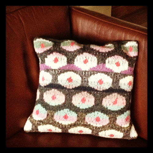 Poppies-cushion