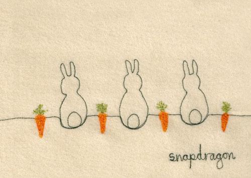 Postcard-bunnies