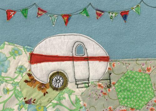 Patchwork-caravan