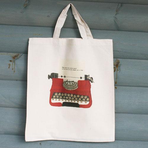 Typewriter-tote
